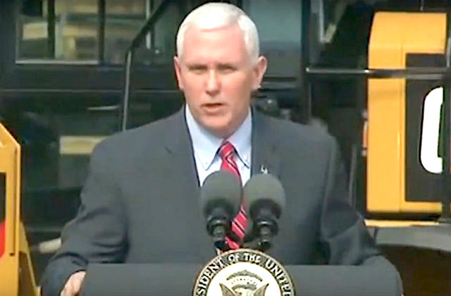 Mike Pence Blames Recent Town Hall Unrest on 'Liberal Activists'