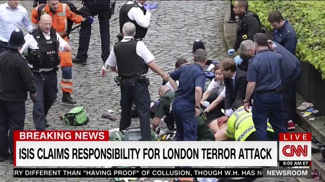 Isis Claims Responsibility For London Car Knife Attack