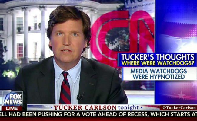 tucker carlson slams cnn  again  over retraction   u0026 39 seems