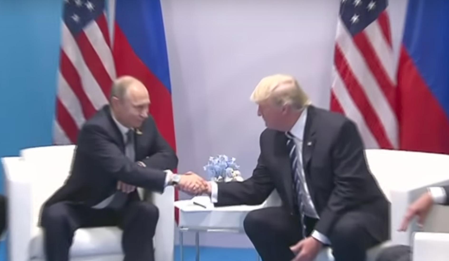 Встреча Путина и Трампа: все подробности - Korrespondent.net
