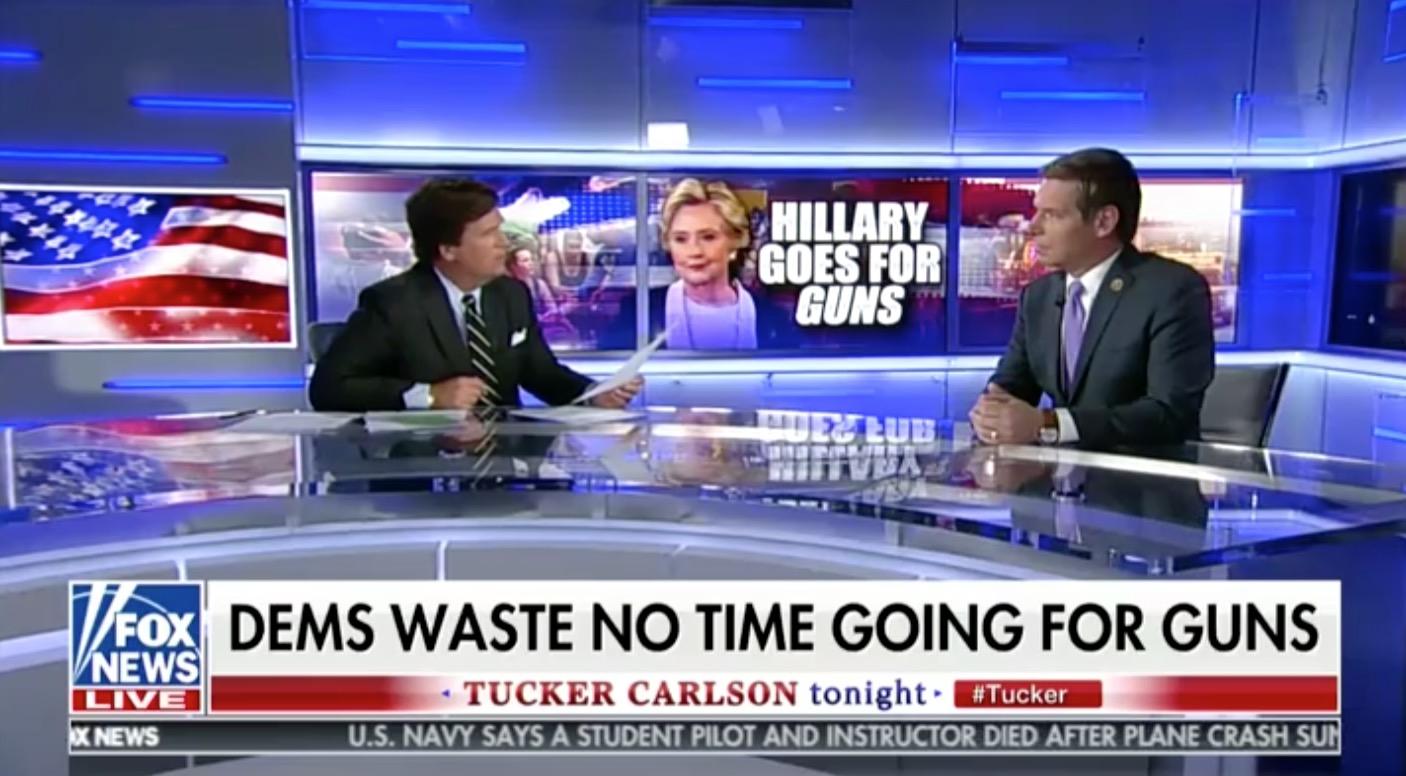 tucker carlson bashes clinton u2019s vegas tweets   u2018maybe you