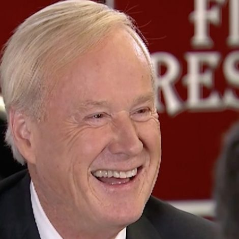 Off-Air Footage Shows Chris Matthews Joking About 'Cosby Pills' Before Interviewing Hillary Clinton