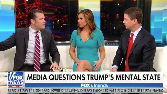 Fox & Friends Slammed Media Focus on POTUS Mental Health ...