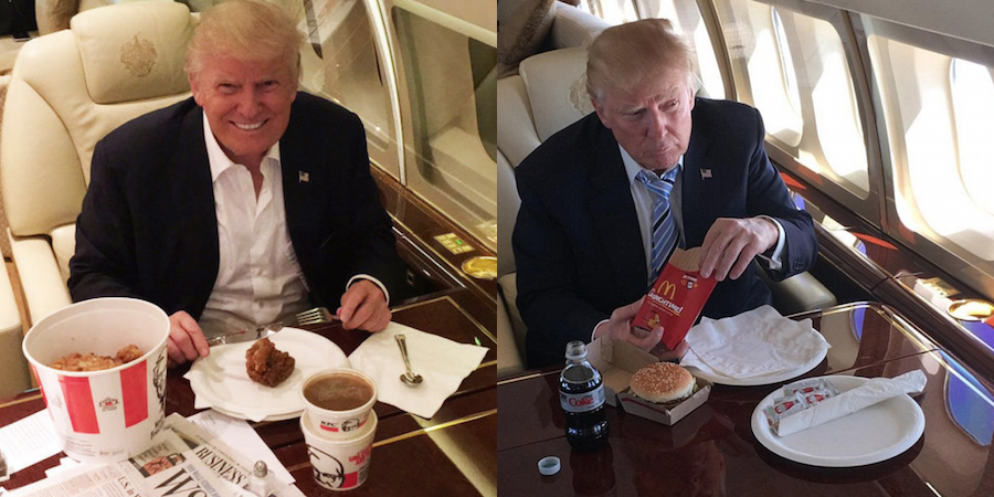 Donald Trump On Food Stamps