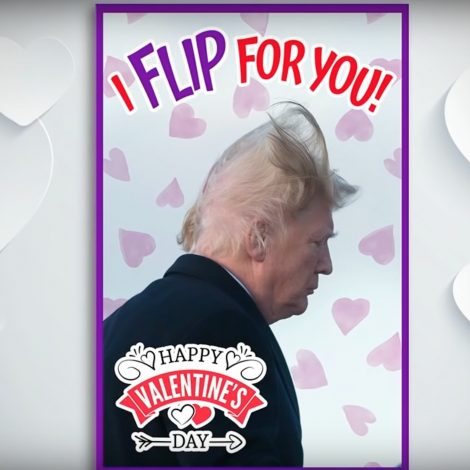 Kimmel Mocks Trump Gopers With Valentine S Day Cards I Wanna Have