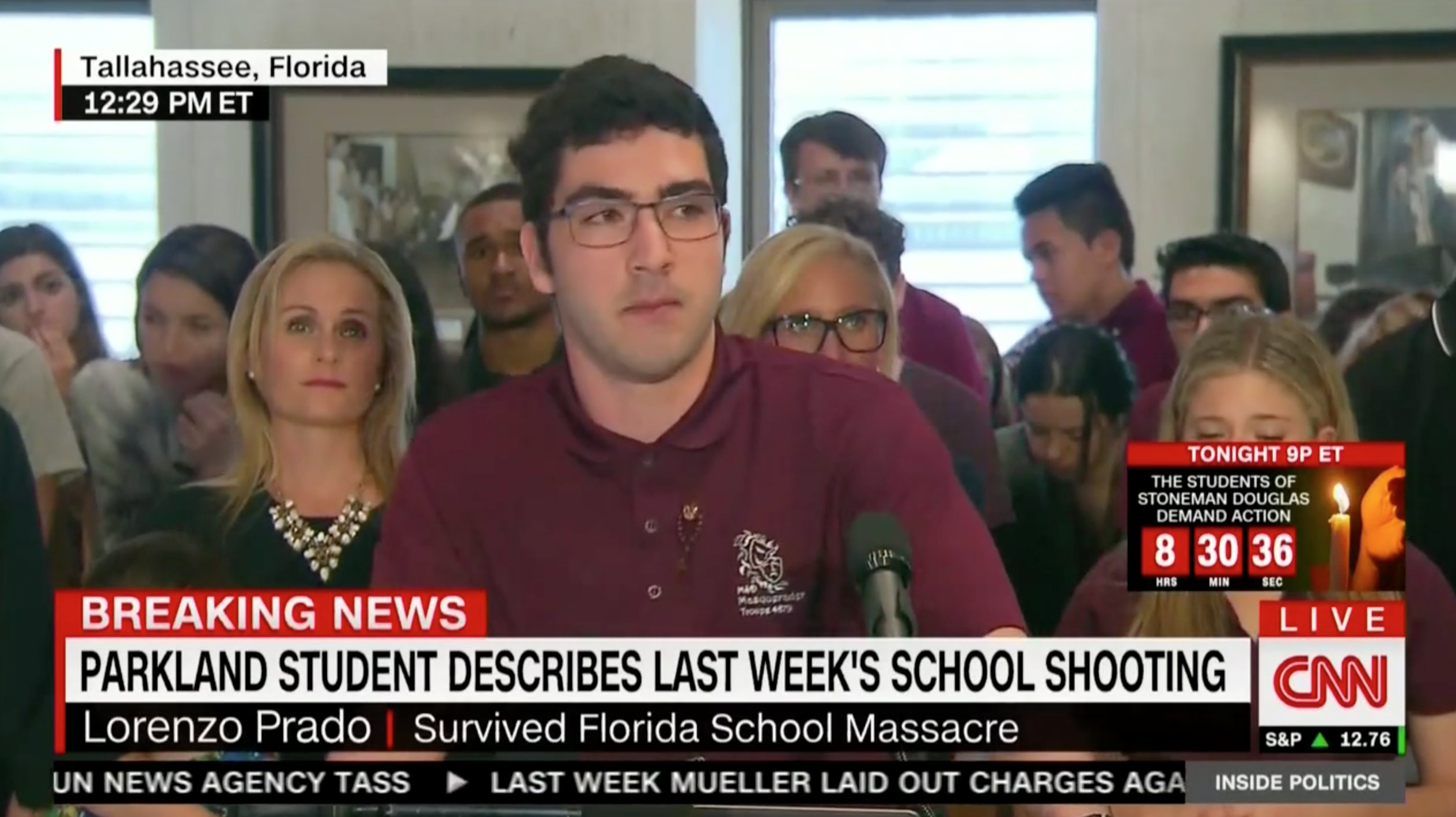 Parkland Student Makes Emotional Speech at FL State Capitol: 'The Law Has  Failed Us' | Mediaite