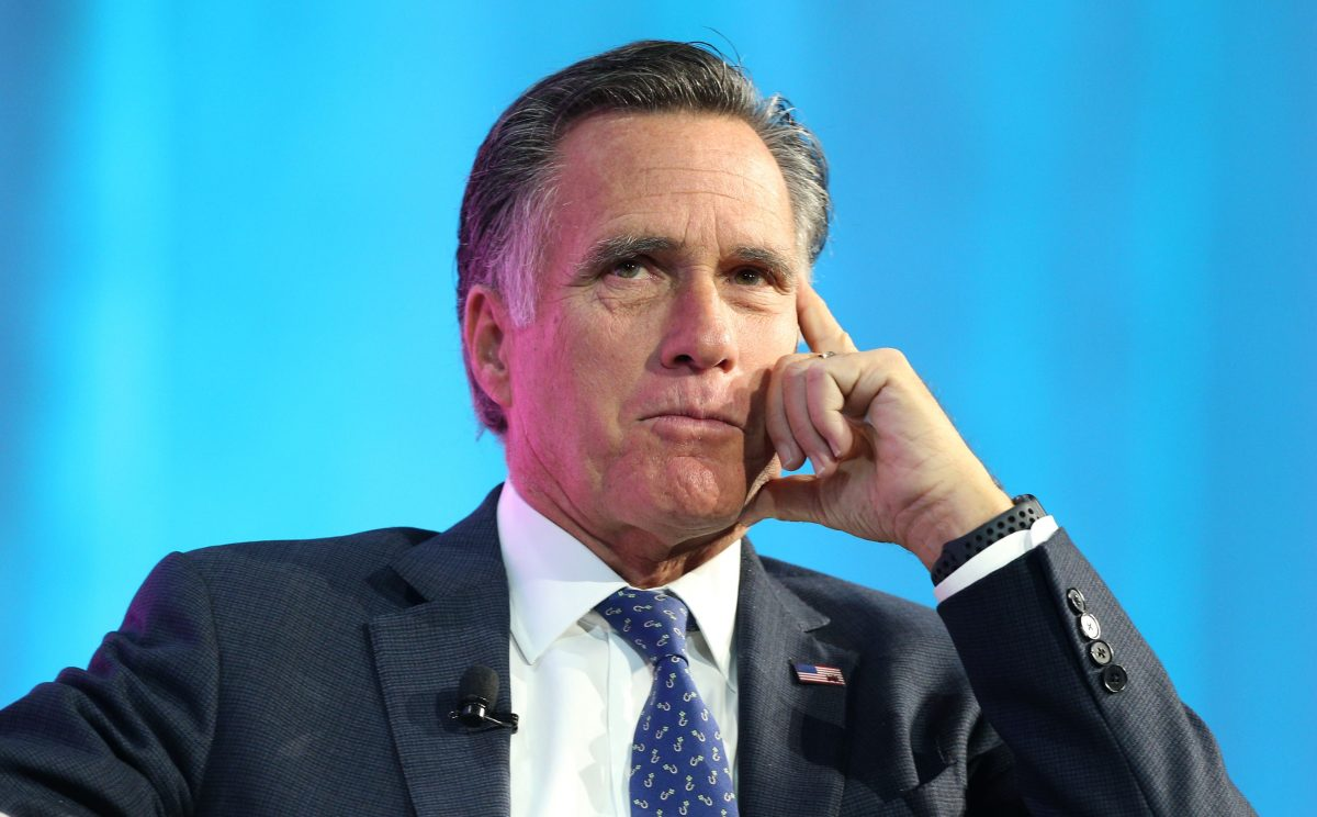 Mitt Romney: 'Troubling in the Extreme' If Trump Pressured Ukraine President to Investigate Biden