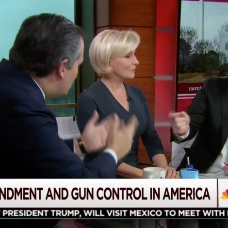 Scarborough and Ted Cruz Hold Explosive, Marathon Gun Control Debate: 'I Don't Need You to Lecture Me'