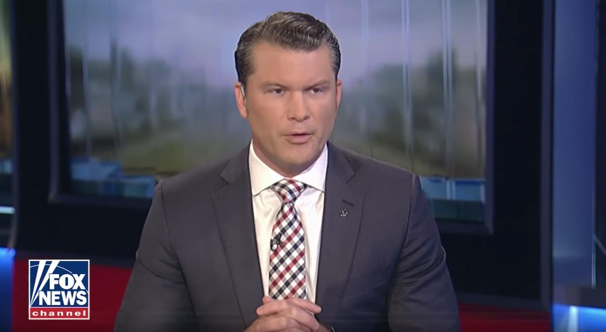 Fox News Host Pete Hegseth Brags About Side Hustle as Trump's War Crimes Adviser