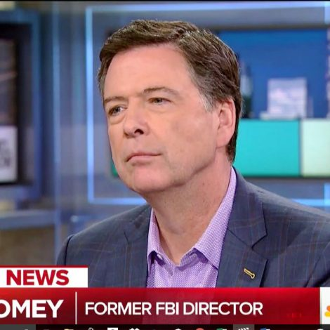 Comey to Maddow: Yes, Trump Told Me He Had a Personal Conversation With Putin About Hookers