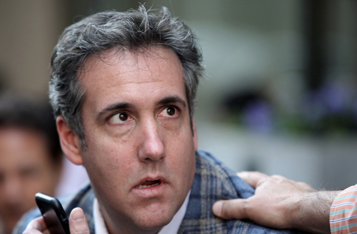 Federal investigators have monitored the phone lines of Michael Cohen the longtime personal lawyer for President Donald Trump who is under investigation
