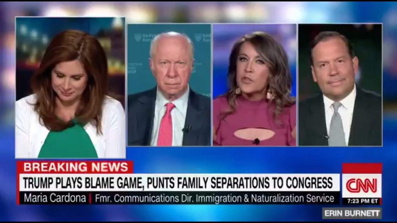 CNN Panel Blows Up After Trump Adviser Steve Cortes Calls Migrant Families 'Invaders'