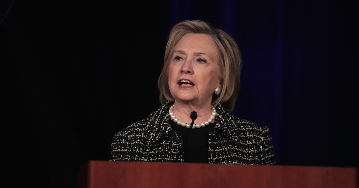 Hillary Clinton Burns Trump for Election Conspiracy By Recalling How Many of His Associates Were Indicted