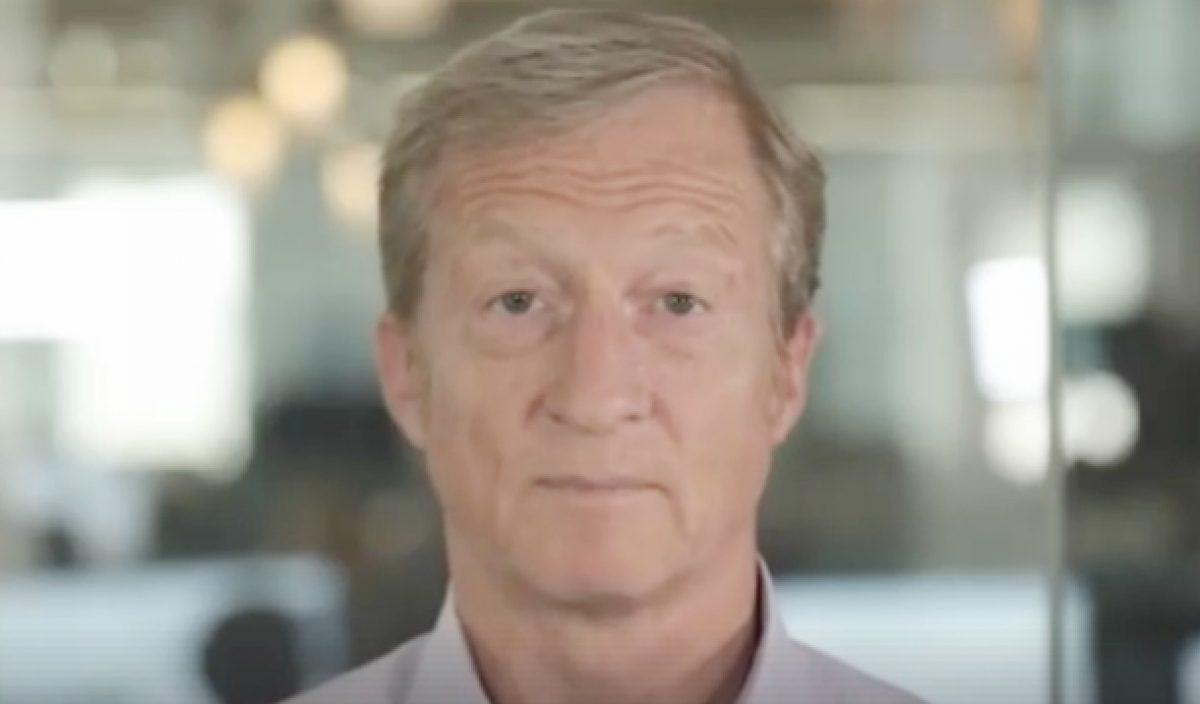 Tom Steyer Says Coronavirus is Trump's Katrina: 'Total Executive Failure By An Incompetent Executive'