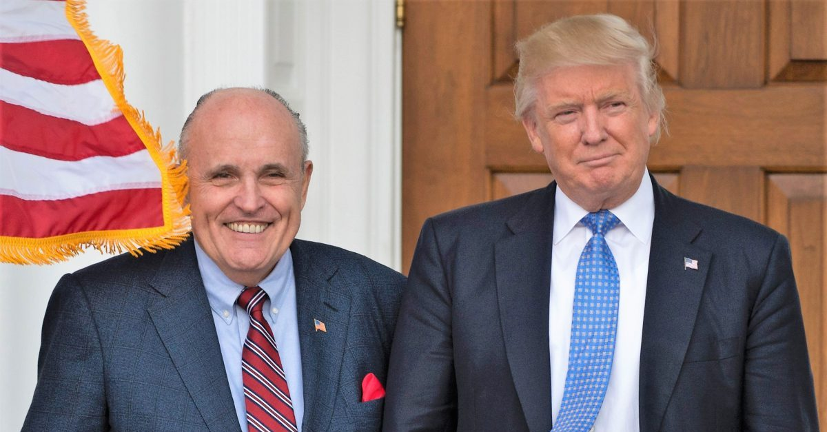 BREAKING: WaPo Report Confirms Rudy Giuliani Pushed Ukrainian Presidential Aide to Investigate Joe Biden: 'Your Country Owes It To Us'