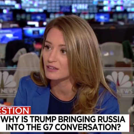 Katy Tur on Trump G-7 Comments: We're Seeing Him 'Run Directly Towards Vladimir Putin'   Mediaite
