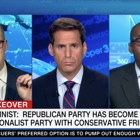 Max Boot Tussles With A Trump Backer in Fiery Clash: He's Using the Language of 'Ethnic Cleansers' | Mediaite