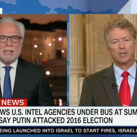 Rand Paul Defends Putin Summit in Wild Interview: Critics All Have 'Trump Derangement Syndrome'