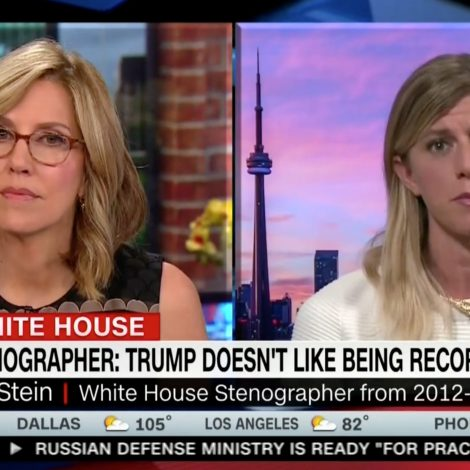 White House Stenographer Who Quit Speaks Out on CNN: Trump is 'Lying to the American People'