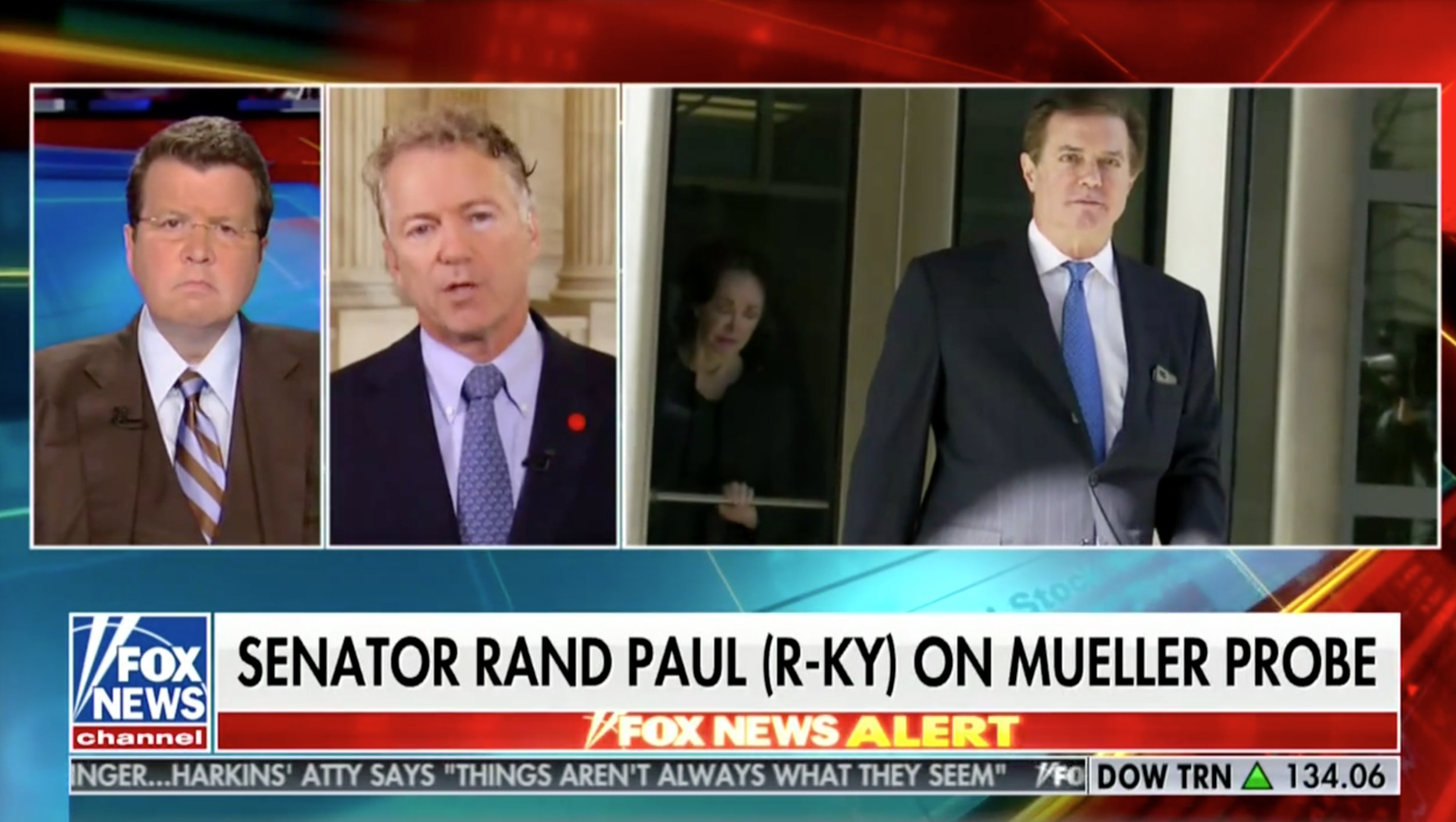 WATCH: Rand Paul Calls For Criminal Justice Reform Because The System is Too Hard on… Paul Manafort
