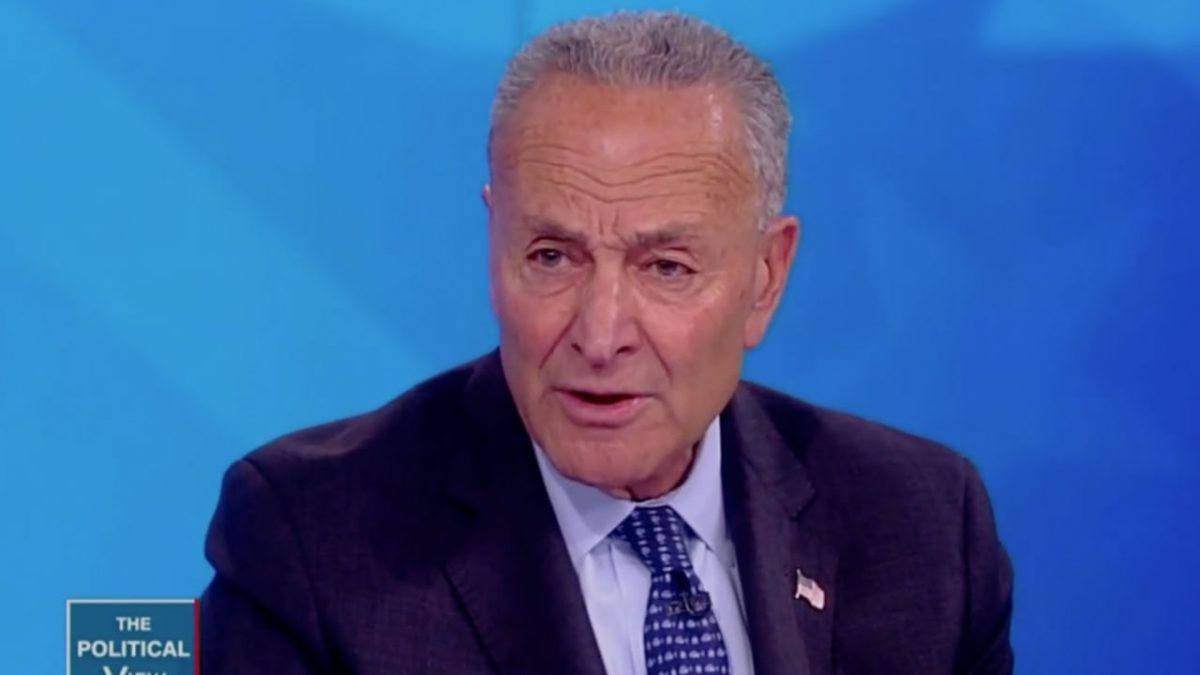 Chuck Schumer Praises John Roberts For Standing Up To