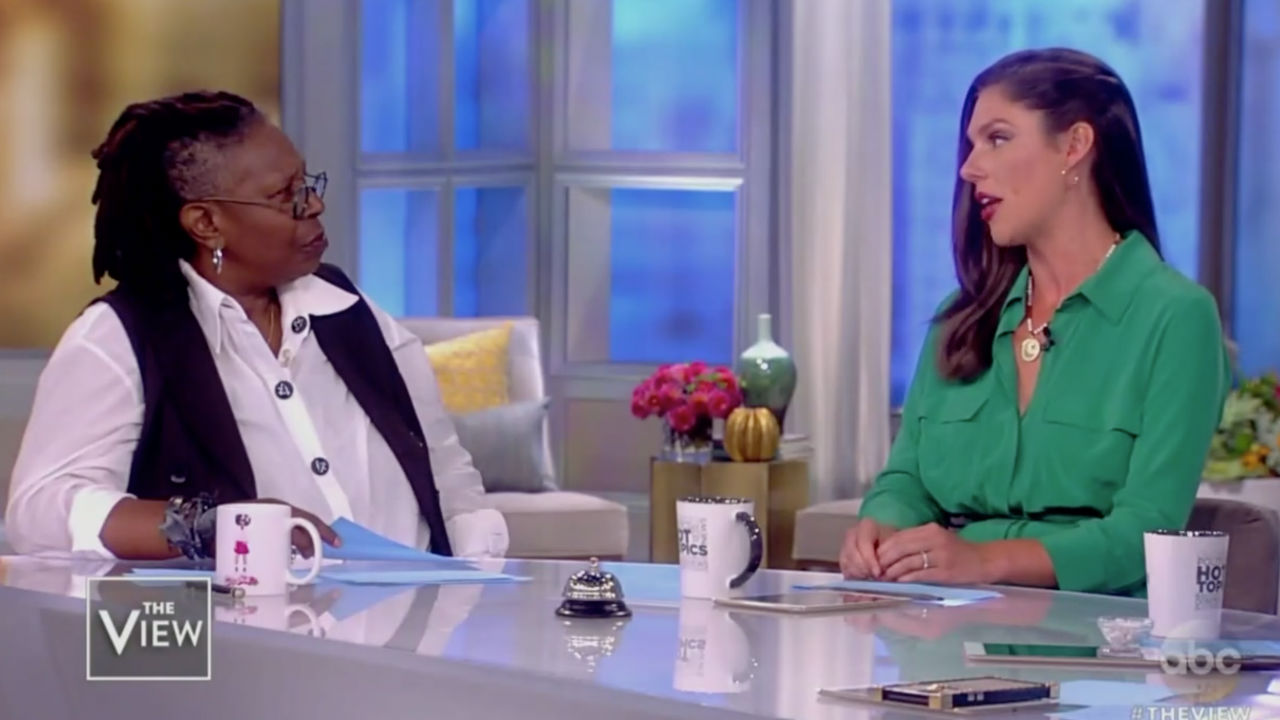 The View Clashes Over Kavanaugh Allegations Timing Of Letter Is Very Political