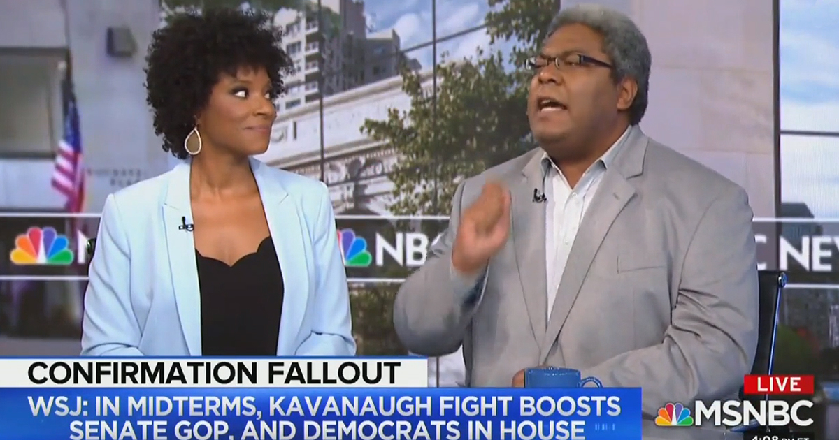 MSNBC Panelist Says GOP Has Set Themselves Up for 'A Thousand-Year Reich' With Kavanaugh Appointment