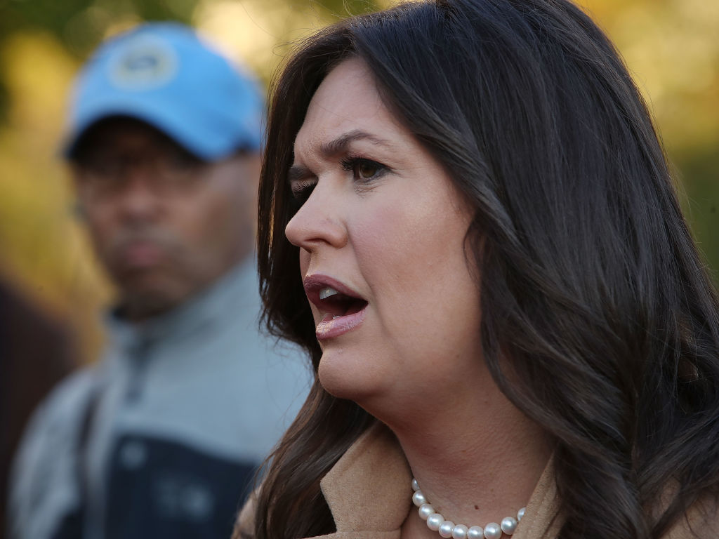 JUST IN: Sarah Huckabee Sanders Joining Fox News as Contributor