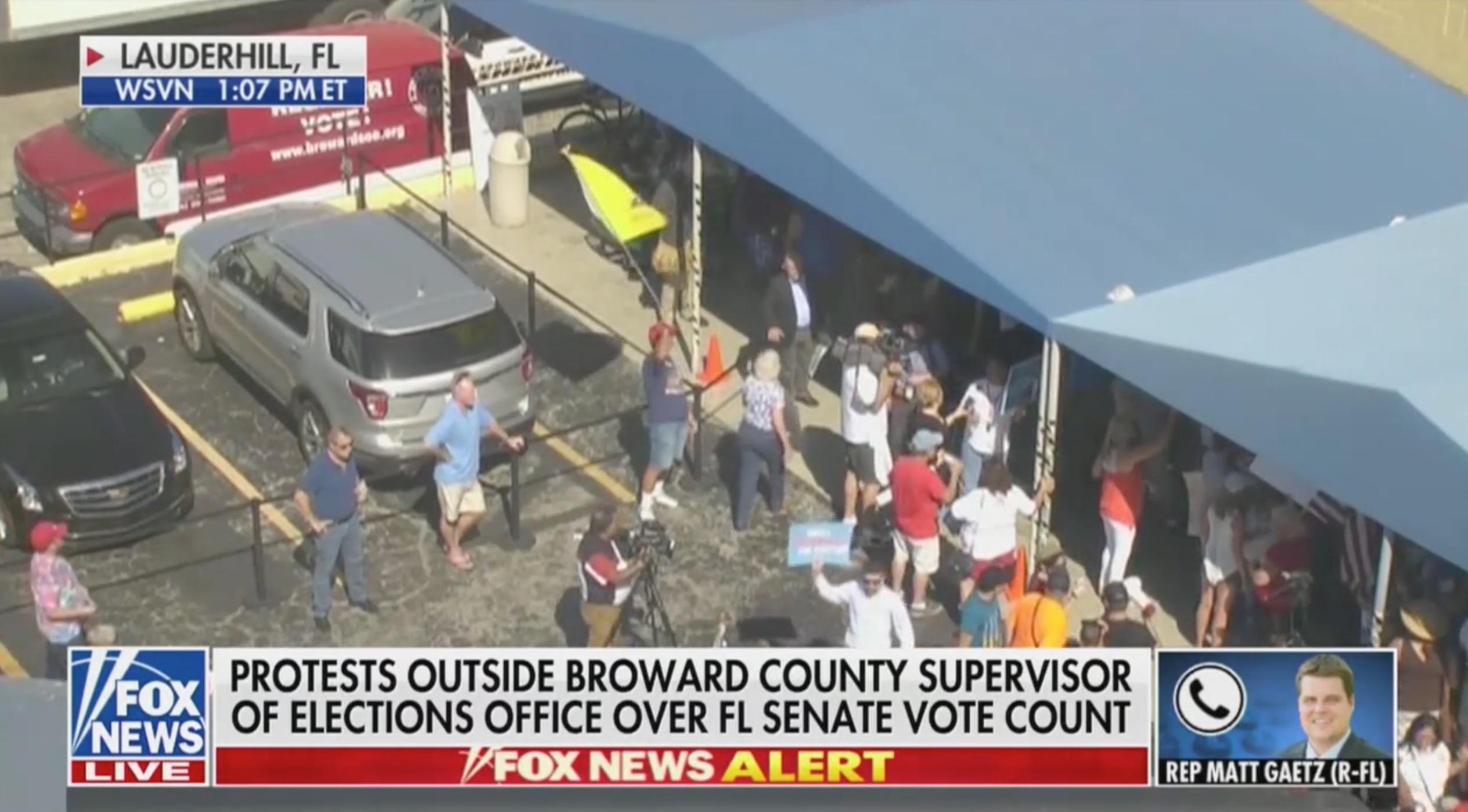 WATCH: Matt Gaetz Goes Off on 'Banana Republic of Broward Country' in Zany Fox News Rant
