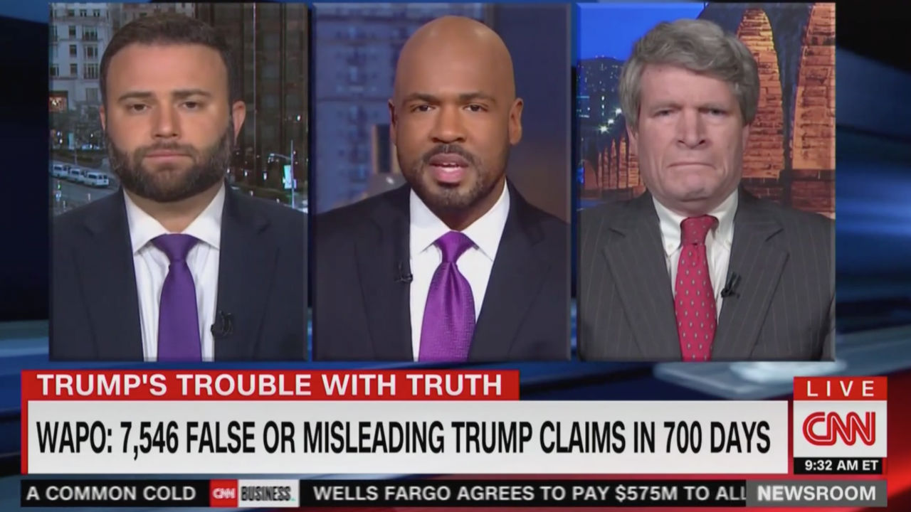 cnn panel gets heated over updated list of trump false statements