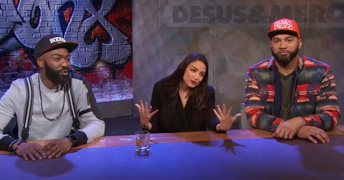 Alexandria Ocasio-Cortez on Desus & Mero Says 10 Mill is 'Enough'