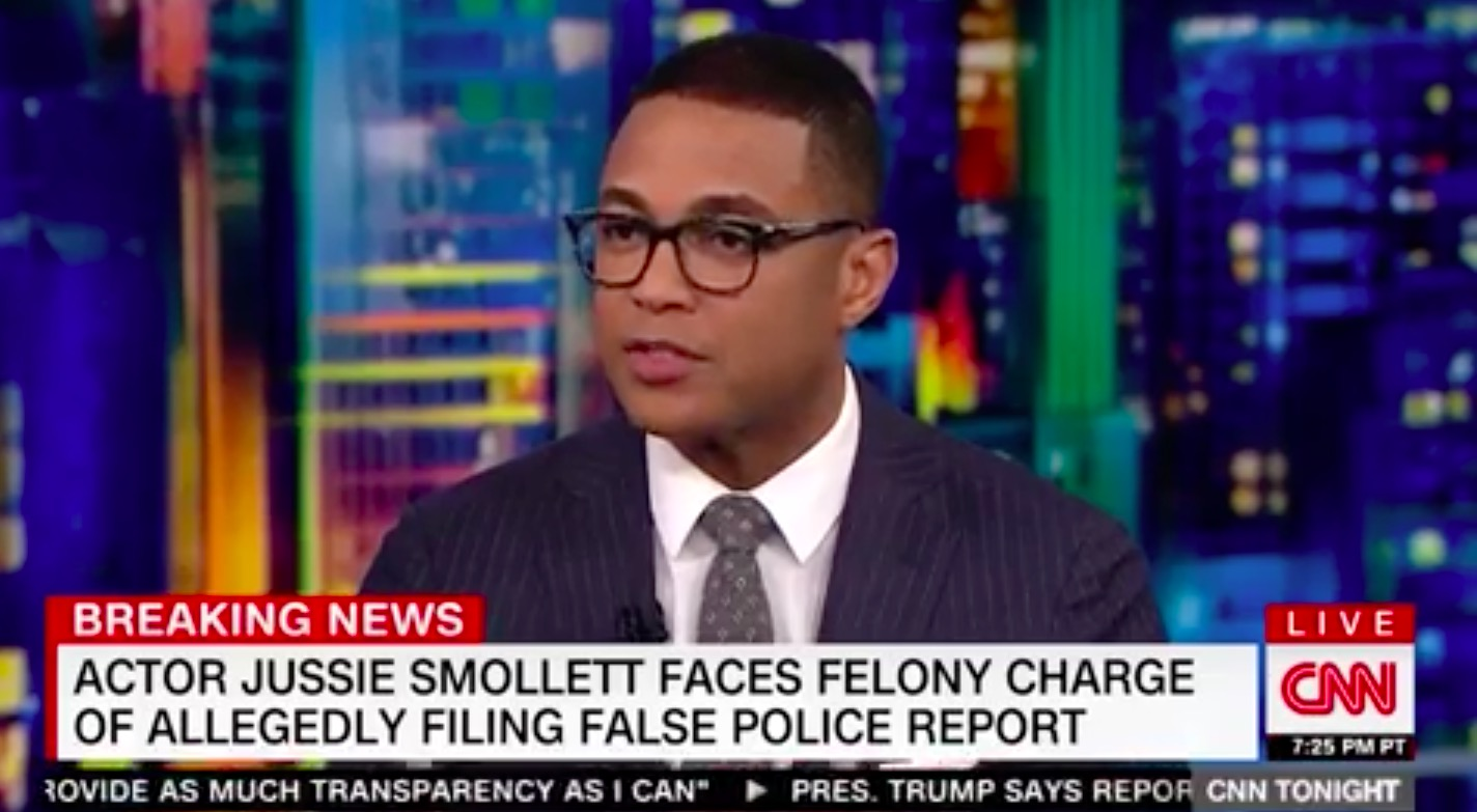 Don Lemon: It's Not Jussie Smollett's Fault He Already Lost in the 'Court of Public Opinion'