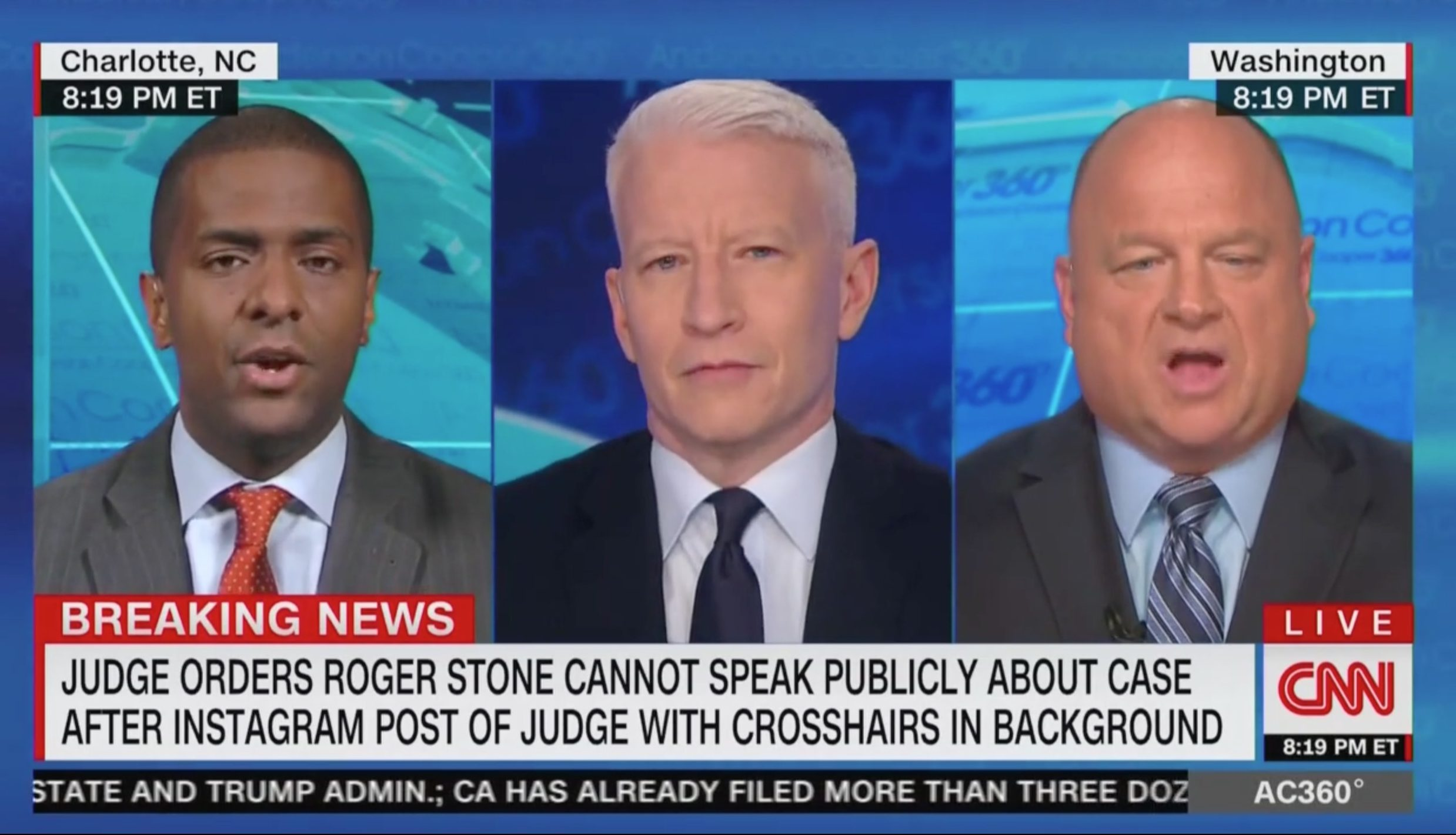 CNN's Bakari Sellers Tussles With David Urban: Gates…Cohen…Manafort…'How Many Felons Do You Want' Around Trump?