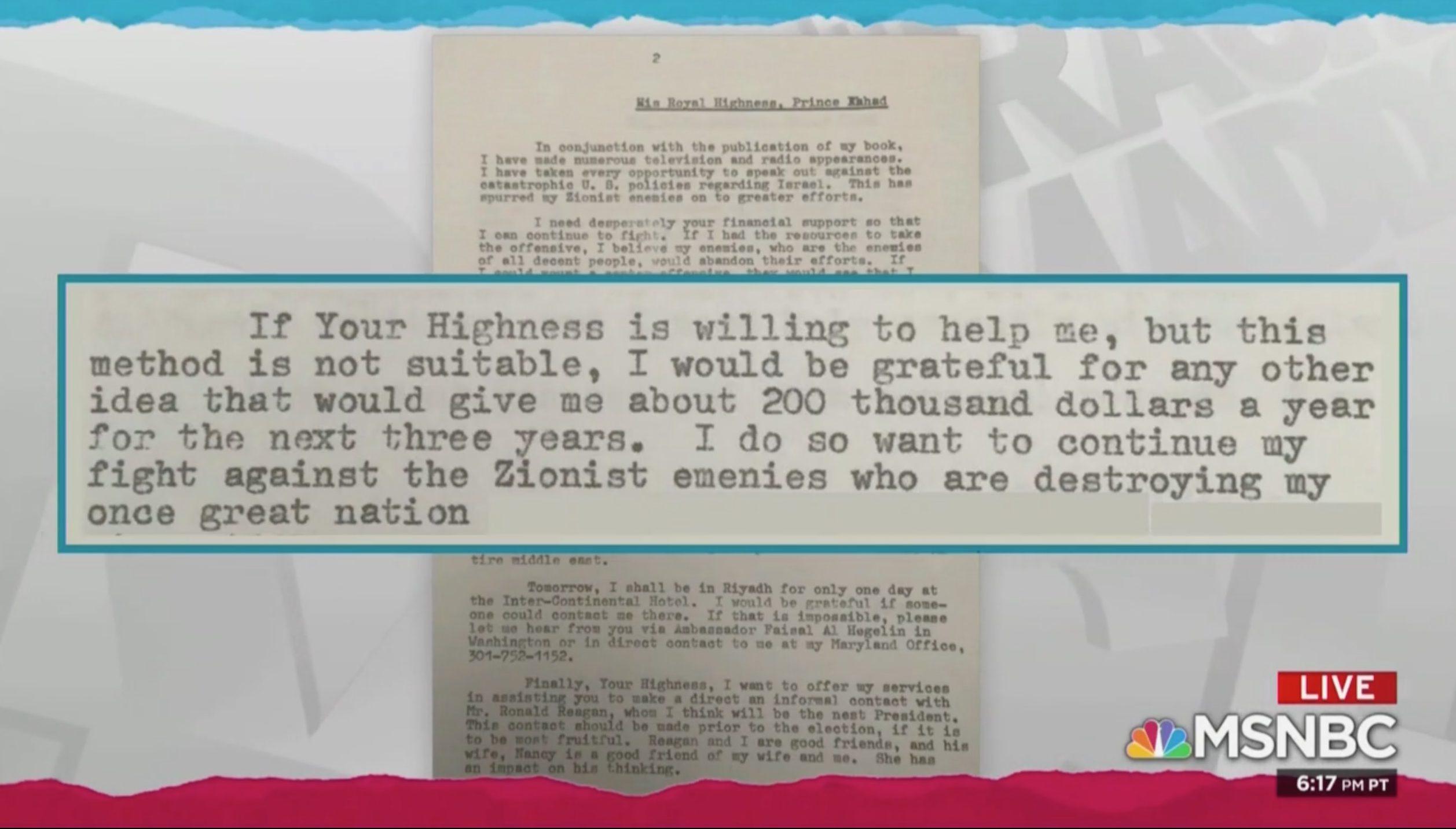 Stunning Maddow Report Details How Nixon VP Spiro Agnew Took