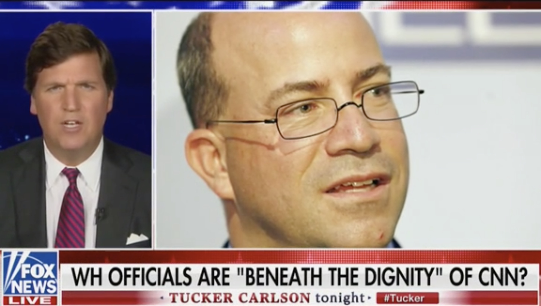 Tucker Carlson Mocks Don Lemon for Saying Kellyanne Conway Is 'Beneath the Dignity' of CNN