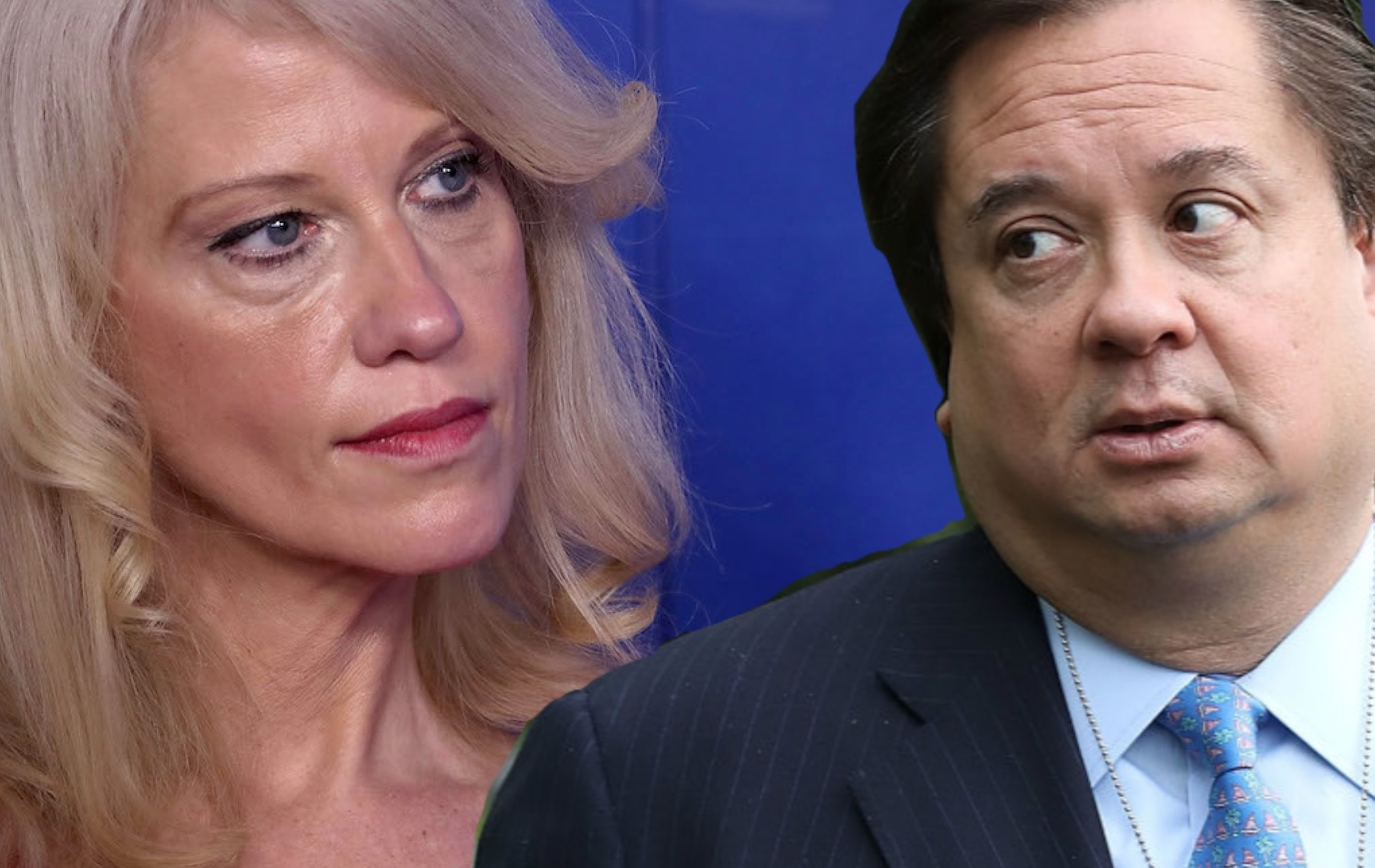 As the Conways Turn: Kellyanne Bashes Nikki Haley for Trump Jab … Just After George Encourages Haley to Go After POTUS