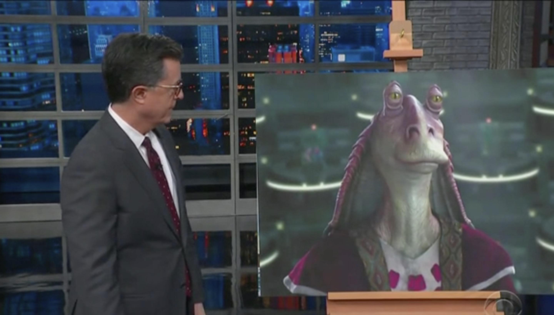 Colbert Mocks Mike Lee You Sir Are The Jar Jar Binks