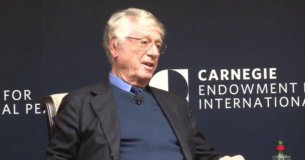 Ted Koppel: Trump's Perception That the 'Establishment Press' Is 'Out to Get Him' Is 'Not Mistaken'