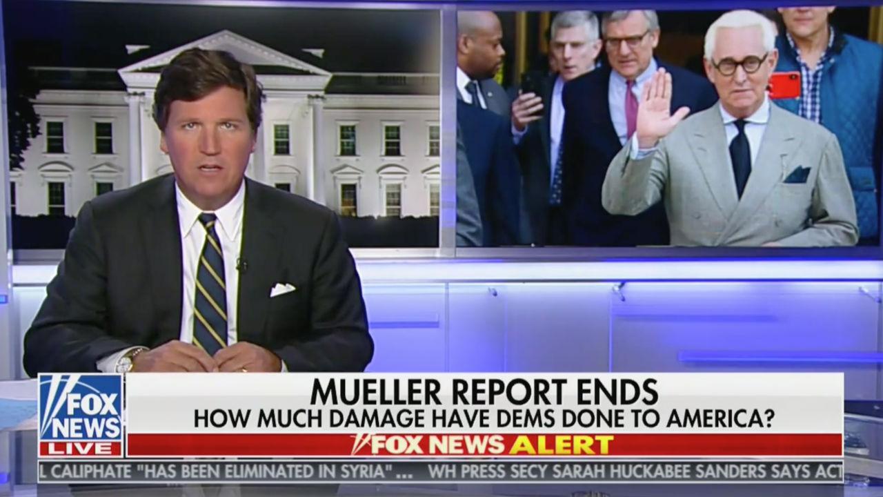 Tucker Carlson: 'Where Is Roger Stone's Pardon?'