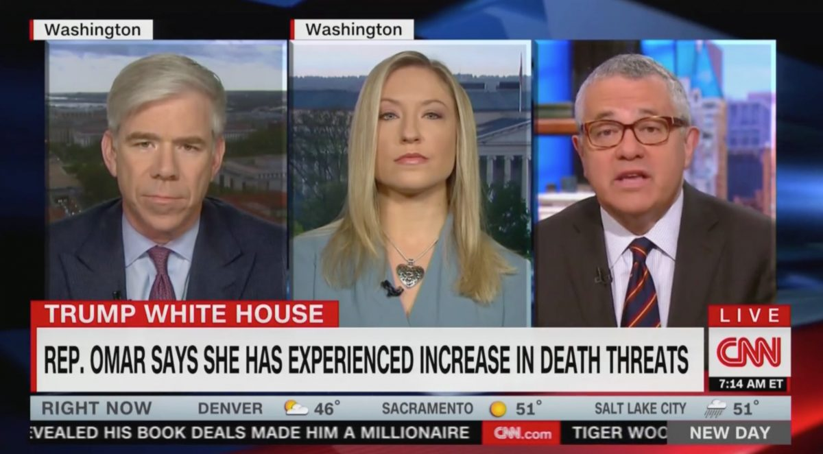 Jeffrey Toobin: Outrageous for Trump to Go After Juror