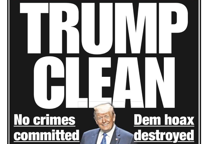 New York Post Panned For Trumpian Front Page Attacking 'Hoax' Russia Probe: They've 'Become Fox News'