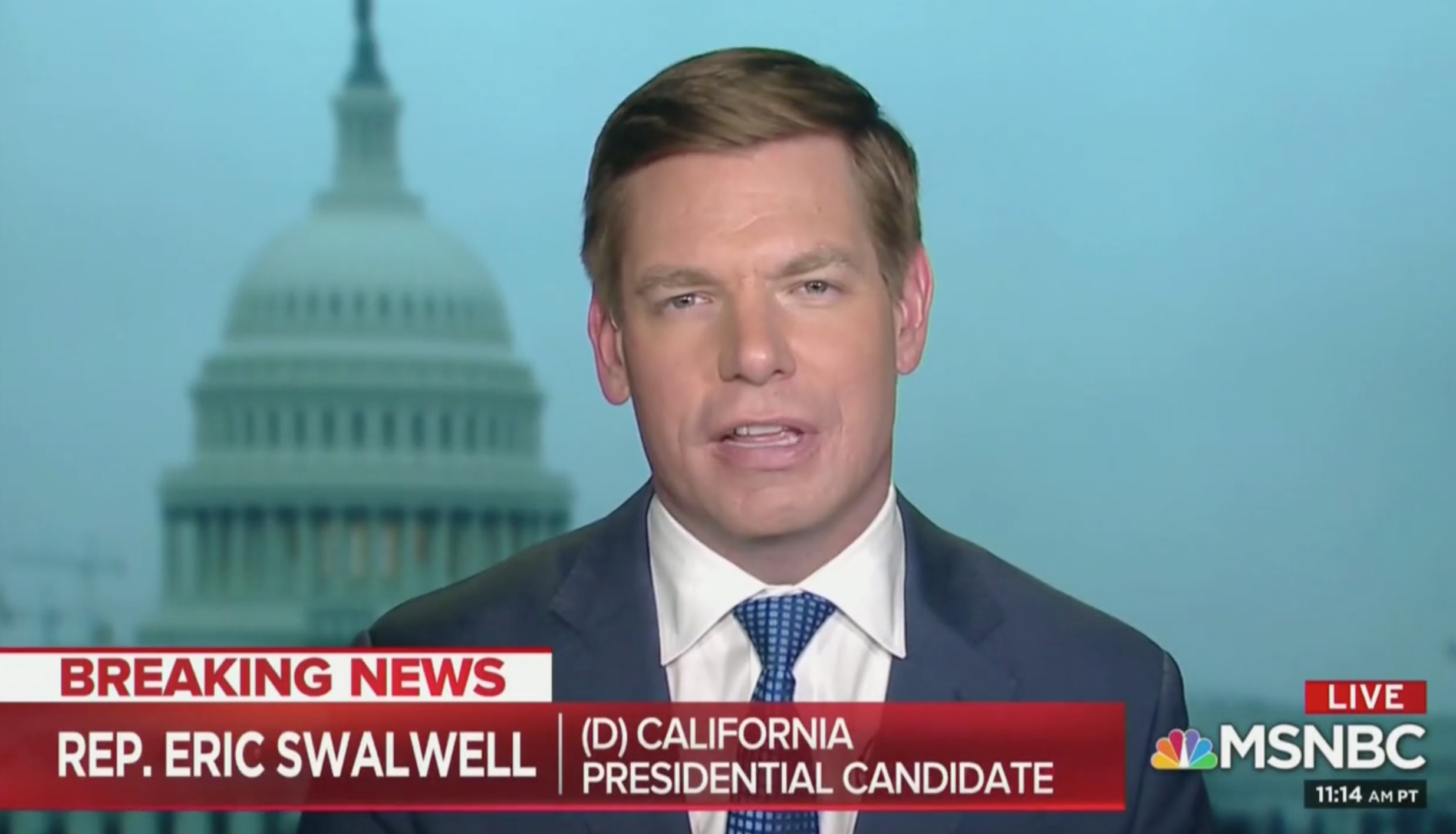 Rep. Swalwell Responds to Death Threats Against Him: This Proves We Need More Gun Control