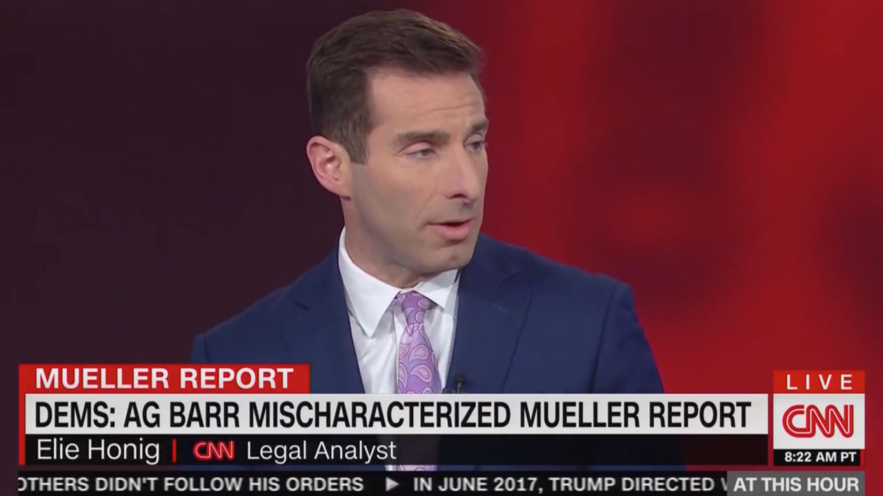 Former Federal Prosecutor on CNN: Barr's 'Credibility and Independence are in the Trash'
