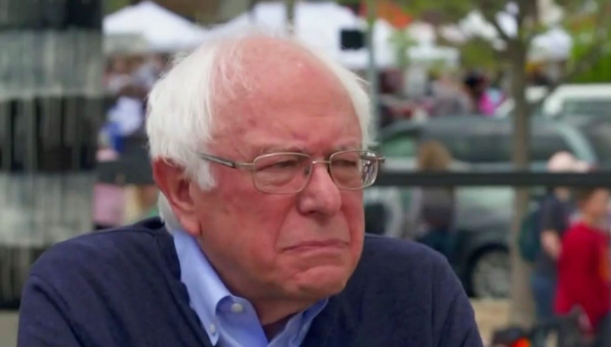 Bernie Sanders Gets Snippy with Reporter for Asking About Anti-American Chants at 1985 Rally