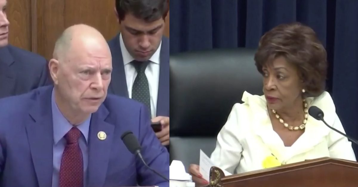 Maxine Waters Scolds GOP Congressman for Calling Dem Colleague 'Selfish' During Ben Carson Hearing