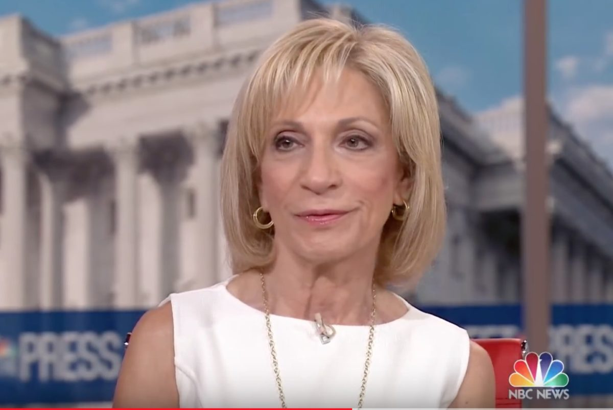 MSNBC's Andrea Mitchell to be Honored With Lifetime Achievement Award at This Year's News Emmys