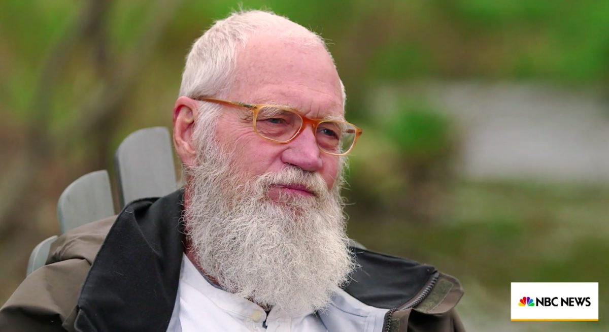 David Letterman Wants Trump Out in 2020: 'I Don't Like This Man as a President of Our Country'