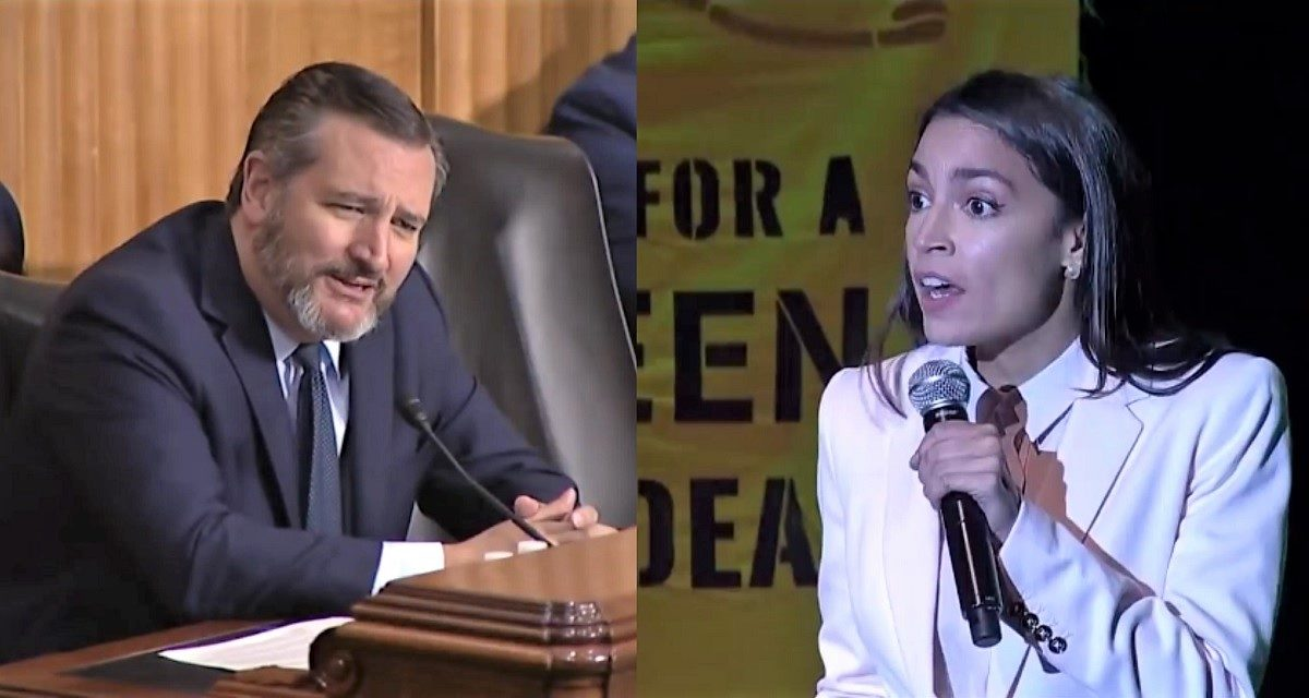 AOC, Ted Cruz Rip NBA in Letter: League Has 'Caved' to China