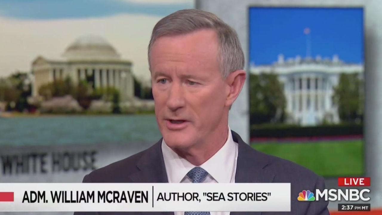 Ret. Admiral McRaven Decries Trump's Media Attacks: al-Qaeda Is the Enemy of the People, Not the Press
