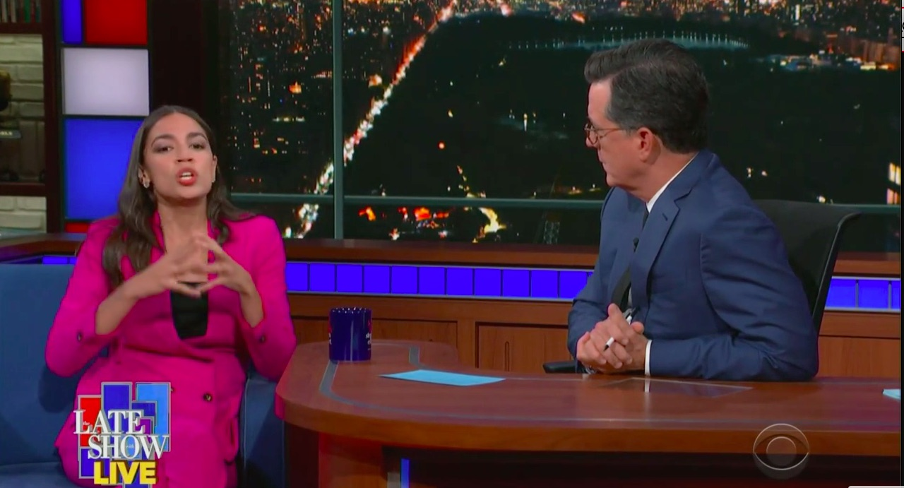 AOC Pans MSNBC's Climate Change Questions: 'We Can't Just Talk About the Copacabana'